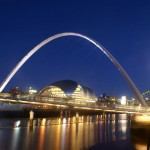 Newcastle Quayside, by Ian Britton for Freefoto