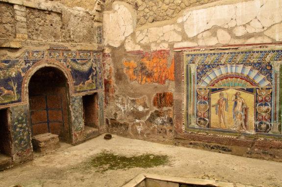 Mosaic of Neptune and Amphitrite, Herculaneum,
