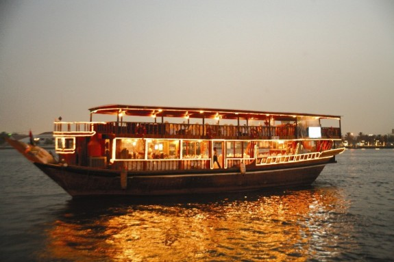 Dhow Cruise Dubai Sightseeing Cruise
