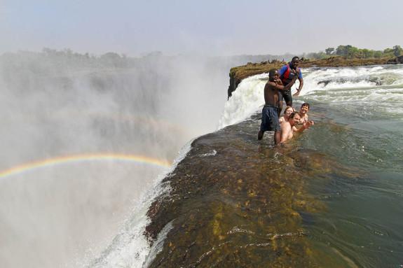 Devil's Pool at Victoria Falls, Livingstone, Zambia
