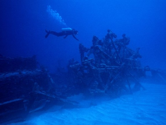 Diving Shipwrecks in Bermuda
