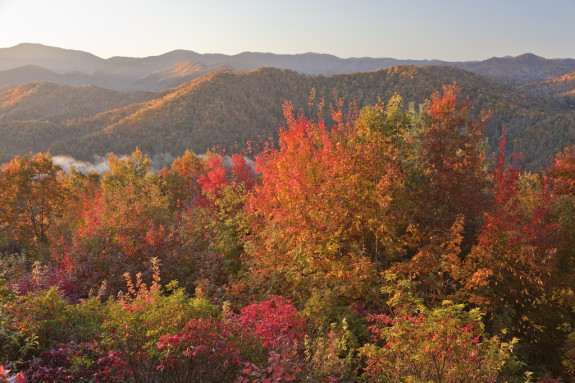 Great Smokey Mountains National Park, Tennessee and North Carolina