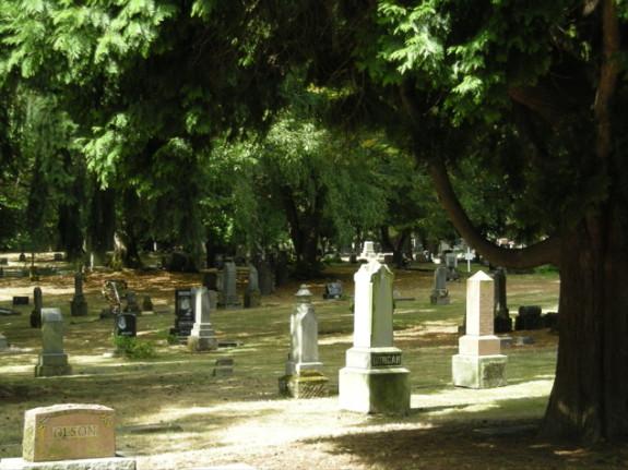 Lone Fir Cemetery, Portland, Oregon