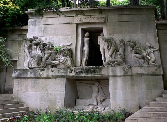 Pére-Lachaise, Paris, France