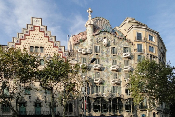Casa Batlló and the Manzana de la Discòrdia