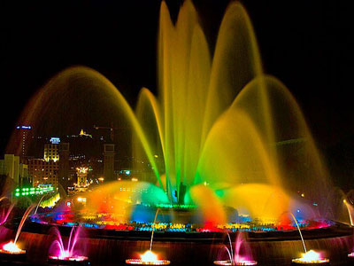 Magic Fountain show
