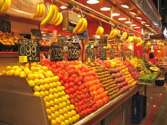 The Boqueria Market