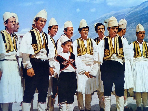 albanian Traditional Dress