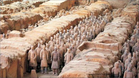 Terracotta Warriors of Xi'an, China