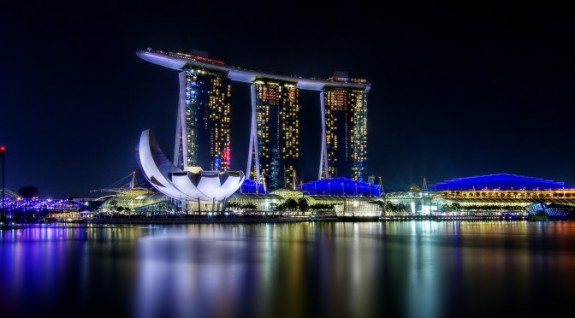 Marina Bay Sands, Marina Bay