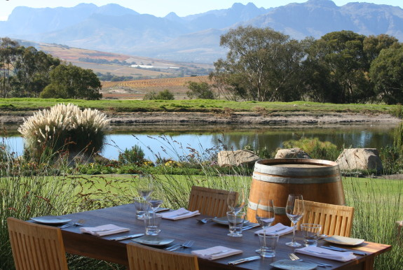 Where to stay and eat in south africa for Jardin winery south africa