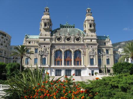 Opera House in Monte Carlo