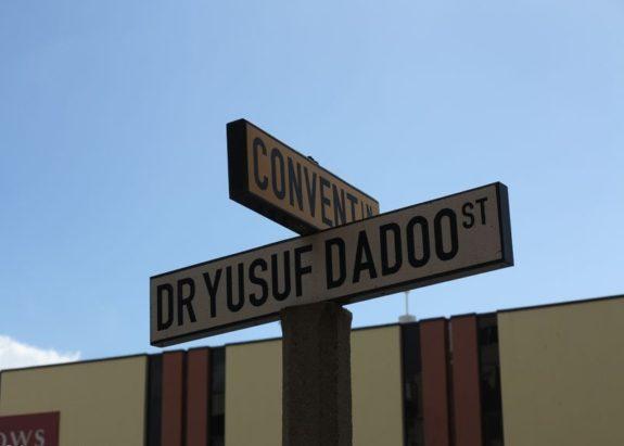 Dr. Yusuf Dadoo street in durban