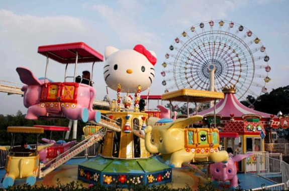 LEGOLAND and Hello Kitty Town