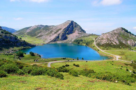 Covadonga lakes Asturias