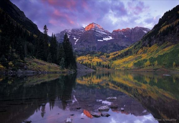 Maroon Bells, Snowmass Wilderness, Aspen, Colorado