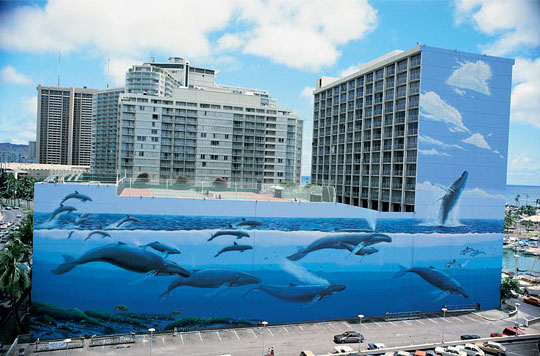 Wyland Whaling Walls